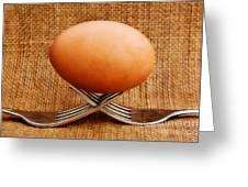 A Balanced Meal Greeting Card