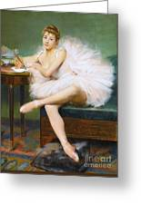 A Ballerina Greeting Card