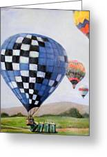 A Balloon Disaster Greeting Card