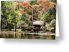 A Bayou Retreat Greeting Card