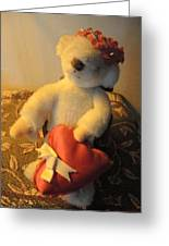 A Bear's Love Greeting Card