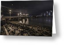 A Beautiful Cityscape In San Diego Greeting Card