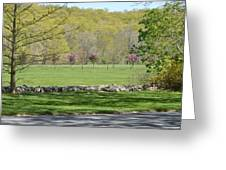 A Beautiful Landscape Greeting Card