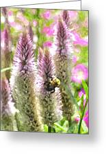 A Bee's Work Is Never Done Abwndwc Greeting Card