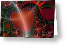 A Big Heart Greeting Card