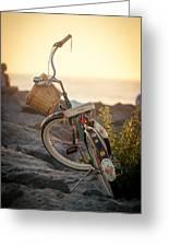 A Bike And Chi Greeting Card