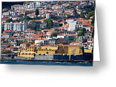 A Bit Of Funchal Greeting Card