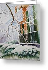 A Blanket Of Snow Greeting Card by Patsy Sharpe