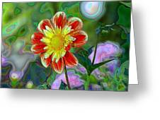 A Blooming Smile  Greeting Card
