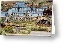 A Bodie View From Above Greeting Card
