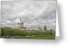 A Bonsecours Day  Greeting Card