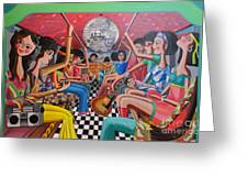 A Boogie Jeepney Ride Greeting Card