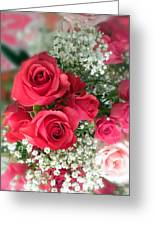 A Bouquet Of Roses For You Greeting Card