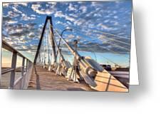 A Bridge To Heaven Greeting Card