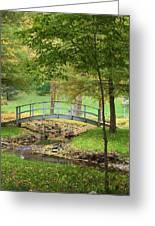A Bridge To Peacefulness Greeting Card