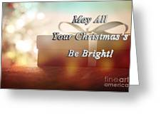 A Bright Christmas Greeting Card