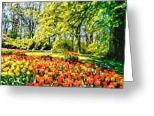 A Bright Day Greeting Card