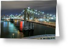 A Brooklyn View  Greeting Card
