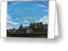 A Brother's Last Ride Greeting Card