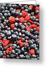 A Bunch Of Berries Greeting Card