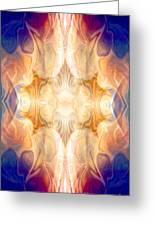 A Burst Of Light Abstract Living Artwork By Omaste Witkowski Greeting Card