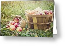 A Bushel And A Peck Greeting Card