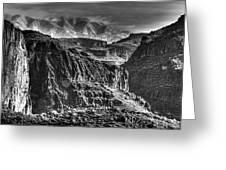 A Canyon Storm Greeting Card