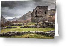 A Castle In The Mountains Greeting Card