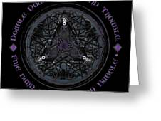 A Celtic Witches' Brew Greeting Card