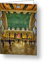 A Central View Greeting Card by Susan Candelario