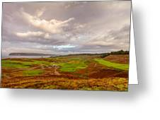 A Chambers Bay Morning Greeting Card by Ken Stanback