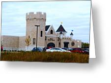 A Cheese Castle Greeting Card