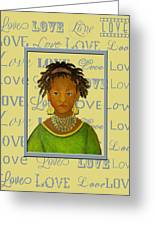 A Child's Whispers Of Love Greeting Card by The Art With A Heart By Charlotte Phillips
