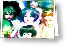 A Chorus Of Dolls - Toy Dreams 4 Greeting Card
