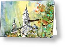 A Church In Budapest 02 Greeting Card