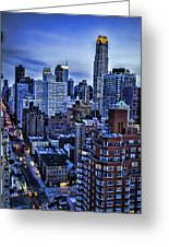 A City That Never Sleeps Greeting Card