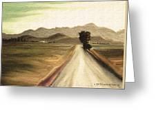 A Classic Landscape Greeting Card
