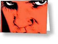 A Clockwork Orange Malcolm Mcdowell Greeting Card