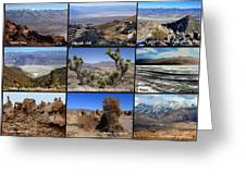 A Collection Of Views Greeting Card