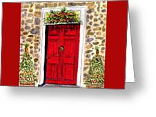 A Colonial Christmas At The Dobbin House Gettysburg Greeting Card