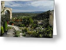 A Commanding View Greeting Card