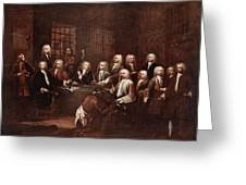 A Committee Of The House Of Commons Greeting Card