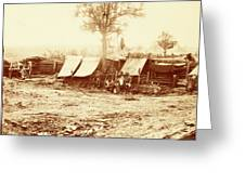 A Confederate Redoubt, Us, Usa, America Greeting Card