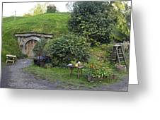 A Cosy Hobbit Home In The Shire Greeting Card
