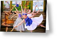 A Dance For All Seasons Greeting Card by Reggie Duffie
