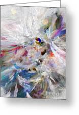 A Dance With Paint Greeting Card