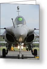 A Dassault Rafale Fighter Aircraft Greeting Card