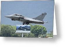 A Dassault Rafale Of The French Air Greeting Card