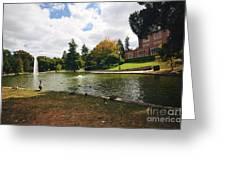 A Day At Mirror Lake Greeting Card