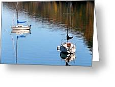 A Day At The Lake Greeting Card